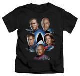 Juvenile: Star Trek - Starfleet's Finest T-shirts