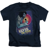 Juvenile: Elvis Presley - On Tour Poster T-Shirt