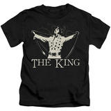 Juvenile: Elvis Presley - Ornate King T-shirts