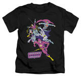 Juvenile: Justice League - Colorful League T-shirts