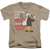Youth: Popeye - Tuesday T-shirts