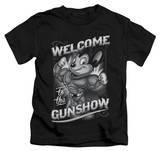 Juvenile: Mighty Mouse - Mighty Gunshow T-shirts