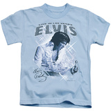 Youth: Elvis Presley - Blue Vegas T-shirts