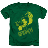 Juvenile: Popeye - Body By Spinach T-Shirt