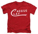 Youth: Muhammad Ali - Cassius Clay Logo Shirt