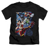 Juvenile: Justice League - Galactic Attack Color Shirt