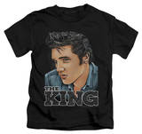 Juvenile: Elvis Presley - Graphic King T-Shirt