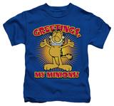 Juvenile: Garfield - Minions T-Shirt