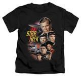 Juvenile: Star Trek - The Classic Crew T-shirts