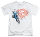 Youth: Superman - Super American Flag T-Shirt