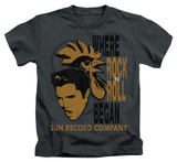 Youth: Elvis Presley - Elvis And Rooster Shirts