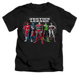 Juvenile: Justice League - The Big Five T-shirts