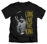 Juvenile: Elvis Presley - Long Live The King T-shirts