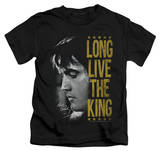 Youth: Elvis Presley - Long Live The King T-shirts