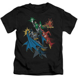 Juvenile: Justice League - Action Stars T-Shirt