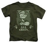 Youth: Popeye - All About The Green Shirts