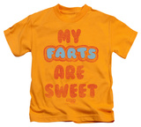 Juvenile: Farts Candy - Sweet Farts T-shirts