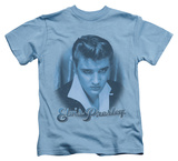 Youth: Elvis Presley - Blue Suede Fade T-shirts