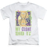 Juvenile: Garfield - My Clone Did It Shirts