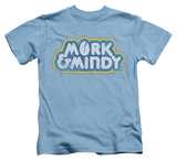 Juvenile: Mork & Mindy - Distressed Mork Logo T-shirts