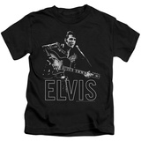 Youth: Elvis Presley - Guitar In Hand T-shirts