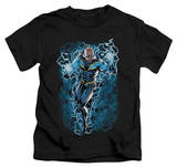 Juvenile: Justice League - Black Lightning Bolts Shirts