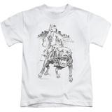 Juvenile: Popeye - Walking The Dog T-shirts