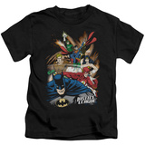 Juvenile: Justice League - Starburst T-shirts