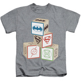 Youth: Justice League - Baby Block T-shirts