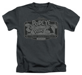 Juvenile: Popeye - Classic Popeye T-shirts