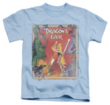 Youth: Dragon's Lair - Distressed Poster T-shirts