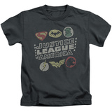 Juvenile: Justice League - Symbols T-Shirt