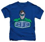 Youth: Green Lantern - Green Lantern Sign T-Shirt