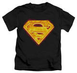 Juvenile: Superman - Hot Steel Shield T-shirts