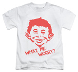 Youth: Mad Magazine - What Me Worry T-Shirt