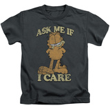 Juvenile: Garfield - Ask Me T-Shirt