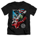 Juvenile: Justice League - Galactic Attack T-shirts