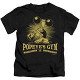 Juvenile: Popeye - Popeyes Gym T-shirts
