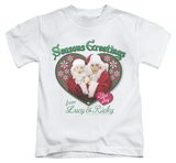 Juvenile: I Love Lucy - Seasons Greetings T-Shirt