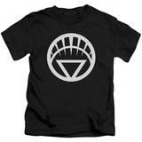 Youth: Green Lantern - White Emblem T-Shirt
