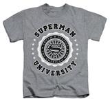 Juvenile: Superman - Superman University T-Shirt
