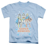 Youth: DC Comics - Super Powers X3 T-shirts
