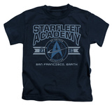 Juvenile: Star Trek - Starfleet Academy Earth T-shirts