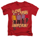Juvenile: Star Trek - Man In Uniform Shirts