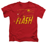 Juvenile: The Flash - Flash Speed Distressed Shirts