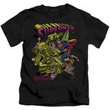 Youth: Superman - Versus Metallo Blacklight T-shirts