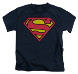 Youth: Superman - Distressed Shield Shirts