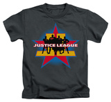 Juvenile: Justice League - Stand Tall T-shirts
