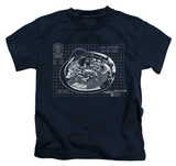 Youth: Star Trek - Bridge Prints Shirts