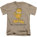 Youth: Garfield - Yes I Could Care Less T-shirts